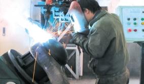 桥壳盖自动焊机