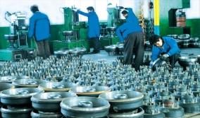 轮毂、制动鼓组合生产线